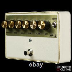 Brand New Shin's Music Mk2 Drive Overdrive Guitar Pedal Plexi Tone White Tolex