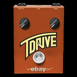 Brand New Vertex Effects T-drive Overdrive Guitar Distortion Effect Pedal