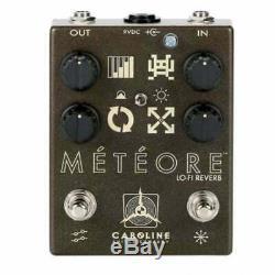 Caroline Guitar Company Meteore Lofi Reverb Pedal Brand New Official Dealer