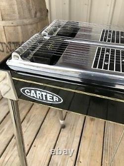 Carter Double Neck Pedal Steel Guitar With Case And Tuner