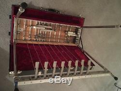 Carter Pro 1996 D10 Pedal Steel Guitar with Casel