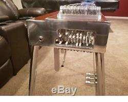 Carter Pro S10 3X5 Mahogany Burl Pedal Steel Guitar with Hard Casel