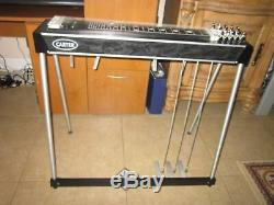 Carter Starter 3X4 Pedal Steel Guitar WithVintage CASE! VGC