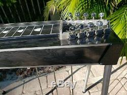 Carter Starter 3X4 Pedal Steel Guitar withLesson Book, Tone Bar, & Soft Case! VGC