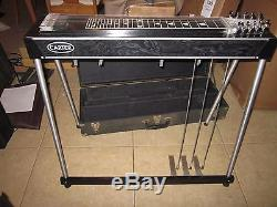 Carter Starter Pedal Steel Guitar withCase, E9th Lesson CD, Vol. Pedal And Bar