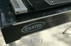 Carter Starter Pedal Steel String Guitar EMMONS SET UP 4 LEVERS 3 PEDALS NICE