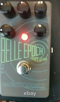 Catalinbread Belle Epoch EP-3 Tape Echo Guitar Effects Pedal. Brand New in Box