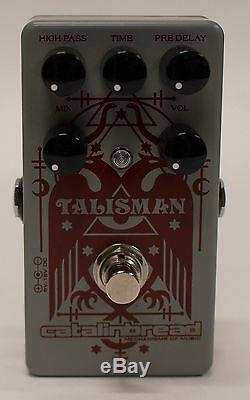 Catalinbread Talisman Plate Reverb Delay Guitar Effects Pedal Brand New