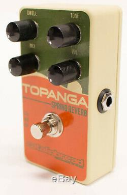 Catalinbread Topanga Spring Reverb Guitar Effect Pedal Brand New