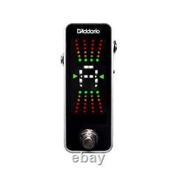 D'Addario PlanetWaves PW-CT-20 Chromatic Guitar Pedal Tuner Brand New