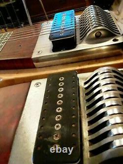 D10 1978 Sho-Bud Pro II Custom 8 x 5 pedal steel guitar, double neck