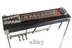 Dekey 3X3 Pedal Steel Guitar VGC! Free Hard Case with Buy it Now