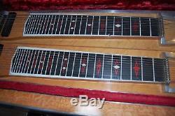 Dekley pedal steel guitar double neck professional quality