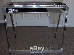 Derby Pedal Steel Guitar SD-10 3 & 5 MINT