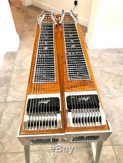 Desert Rose Pedal Steel Guitar. Emmons set up. Beautiful Tiger Maple