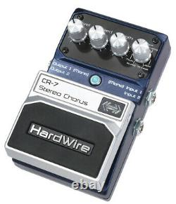 DigiTech HardWire CR-7 Stereo Chorus Guitar Effect Pedal Brand New in Box