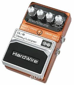 Digitech DL-8 Hardwire Delay/Looper Guitar Effects Pedal Brand New in Box