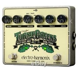 EHX Electro Harmonix Turnip Greens compact multi-effects Guitar Pedal Brand New