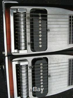 EMMONS PEDAL STEEL GUITAR, D-10, Sunburst Laquer, Beautiful