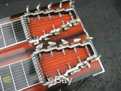 EMMONS PEDAL STEEL GUITAR, D-10, Sunburst Laquer, Beautiful