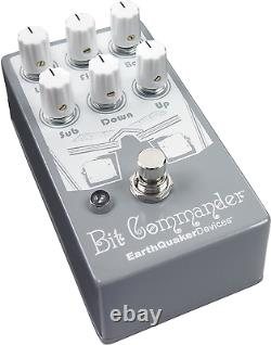 Earthquaker Devices Bit Commander V2 Analog Octave Synth Guitar Effects Pedal