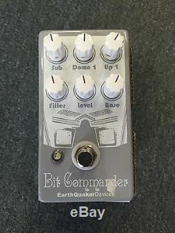Earthquaker devices Bit Commander Analog Guitar Synth pedal Brand New