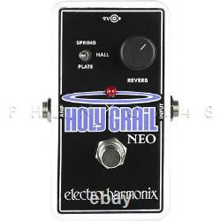 Electro-Harmonix Holy Grail Neo Reverb Guitar Effects Nano Pedal Brand NEW