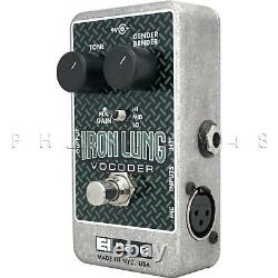 Electro-Harmonix Iron Lung Vocoder Guitar/Live Vocal Effects Pedal Brand NEW