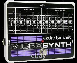 Electro-Harmonix Micro Synth Analog Guitar Microsynth effects pedal, Brand NEW