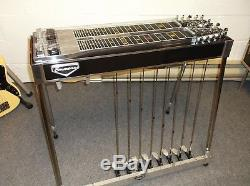 Emmons 1966 D-10 pedal steel guitar