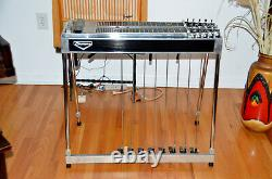 Emmons D-10 Early 80's Black Double Neck Pedal Steel Guitar