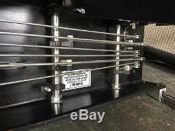 Ernie Ball Black Eagle 3X3 Pedal Steel Guitar with Casel