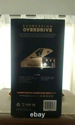 Ernie Ball Expression Overdrive Guitar Effects Pedal Gold. Brand New with Box