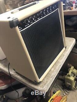 Evans Amplifier FET-500 Custom LV 1x12 Combo Pedal Steel Guitar Amp Harp Blond