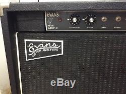 Evans FET500 LV Custom Solid State Slide Guitar Amplifier 200W Nice! Pedal Steel
