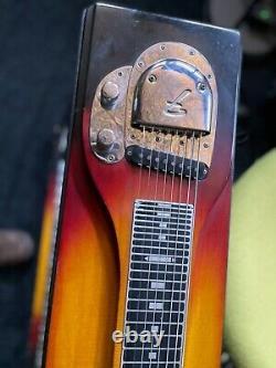 FENDER PEDAL STEEL GUITAR 1963 9 pedals