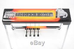 Fender 400 Pedal Steel Sunburst Guitar with Case Owned by Kato Khandwala #33700