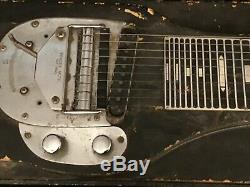 Fender Pedal Steel Guitar Missing Some Parts, Pickup Works