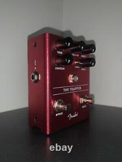 Fender The Trapper Dual Fuzz Guitar Pedal (Brand New)