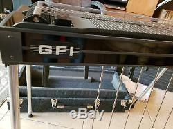 GFI Expo D10 8X4 Black Mica Pedal Steel Guitar Case incl