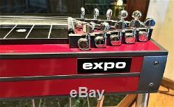 GFI Expo SD-10, Pedal Steel Guitar