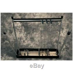GFI Musical Instrum. S-10 SM Pedal Steel Guitar withCase (3 pedals, 4 knee levers)
