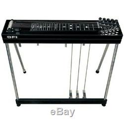 GFI Musical Instruments S-10 SM Pedal Steel Guitar with Hardshell Case 3