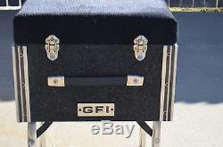 Gfi Pedal Steel Guitar Seat Black