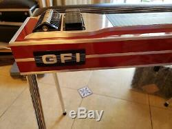 GFI SD10 Ultra Red Mica 4X5 Pedal Steel Guitar ExCond! With Hard Case