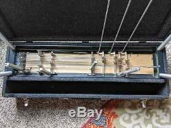 GFI SM10 3X4 Pedal Steel Guitar withCase & Bar Very Good Cond
