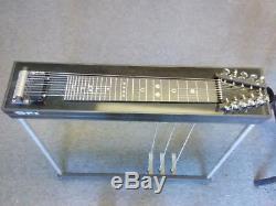 Gfi Student Model Series Black Pedal Steel Guitar 3&2 3 Pedals 2 Knee Levers