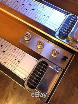Gibson Console Grande Geib Case Flame Maple Non Pedal Steel Guitar 1950s Vintage