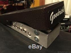Goodrich LDR-2 active guitar volume pedal steel
