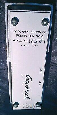 Goodrich Model 120 Volume Pedal for Pedal Steel Guitar! Electric Guitar